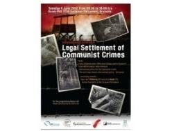 Legal Settlement of Communist Crimes, International Conference