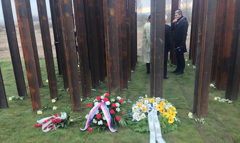 Memorial to the victims of the Iron Curtain inaugurated by Platform Member in the Czech Republic