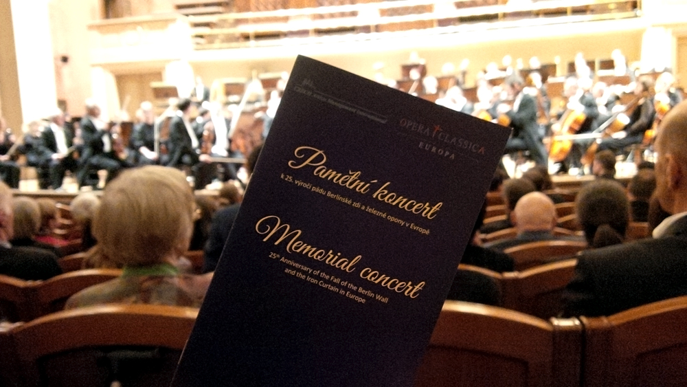 Memorial Concert on the 25th Anniversary of the Fall of the Berlin Wall and the Iron Curtain in Europe