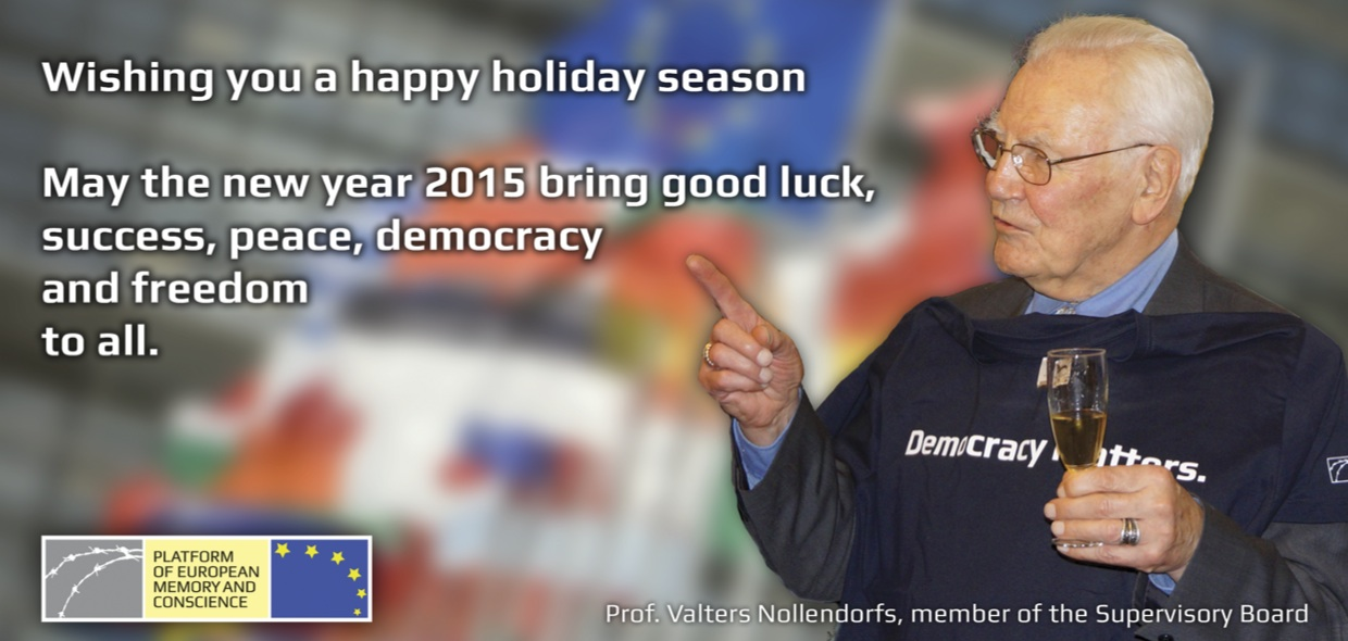 Season's greetings from the Platform to all