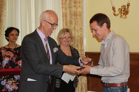 Prize of the Platform of European Memory and Conscience 2015 awarded in Budapest