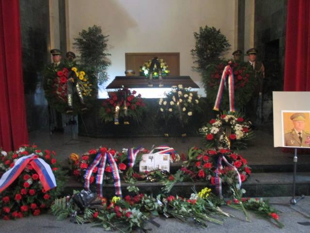 Platform condemns incredible official funeral for Czech Communist perpetrator