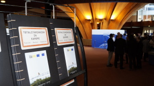 "Platform's exhibition ""Totalitarianism in Europe"" opens in the Parliamentary Assembly of the Council of Europe in Strasbourg"