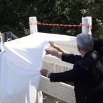 Inauguration of the Memorial to Hartmut Tautz in Bratislava