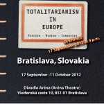 Travelling exhibition Totalitarianism in Europe - Slovakia