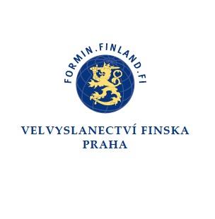 Logo finnish embassy CZ