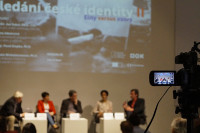 """Discussion """"Searching for the Czech identity II"""", Prague, 22 April 2015, photo: PEMC"""