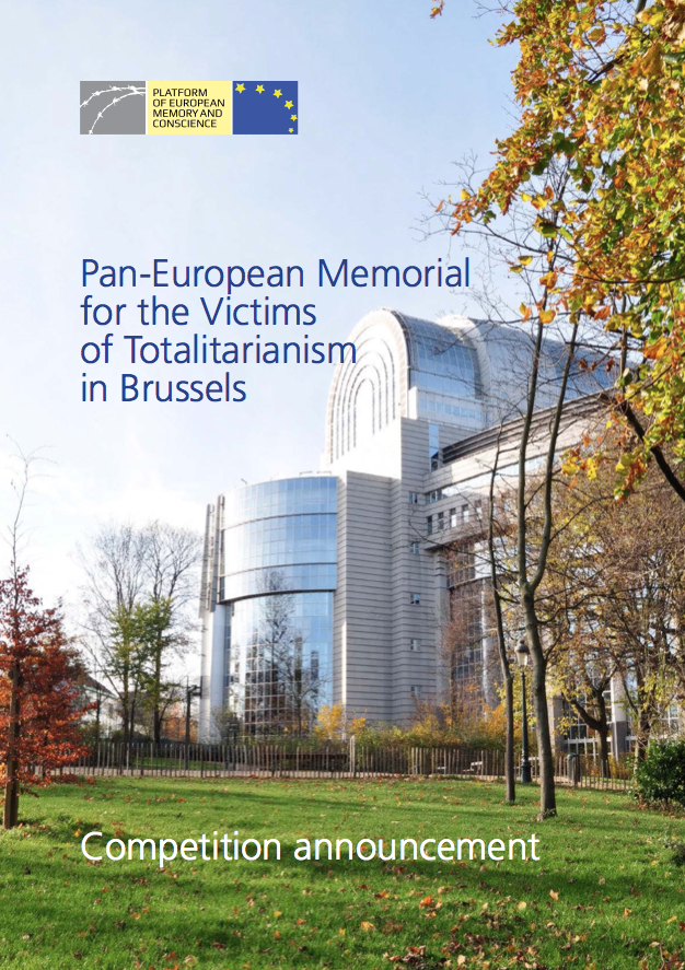 Announcement: International competition for a memorial for the victims of totalitarianism in Brussels