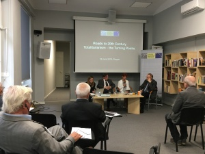 "Platform conference ""Roads to 20th Century Totalitarianism – the Turning Points"" in Prague"